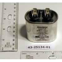 Ruud Air Conditioning 432513401 3MFD 370V Oval Run Capacitor 5PK