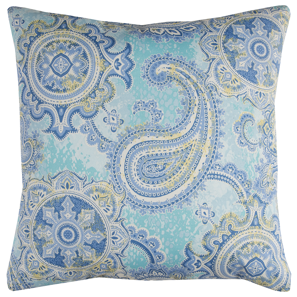 "Rizzy Home TFV067 22"" x 22""  Indoor/ Outdoor Pillow"