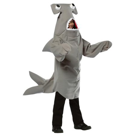Hammerhead Shark Costume, Size 7-10