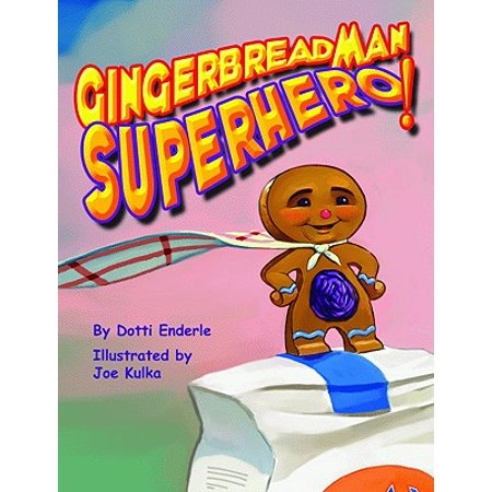 Gingerbread Man Superhero!](Gingerbread Man Crafts)