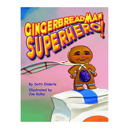 Gingerbread Man Superhero! - Male Super Hero