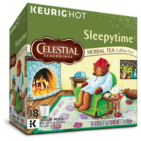 Celestial Seasonings Herbal Tea, Sleepytime, 18 Count