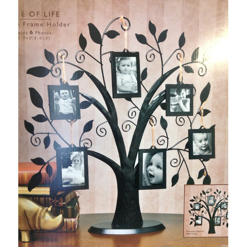 James Scott 7 Piece Family Tree Picture Frame Set Walmartcom
