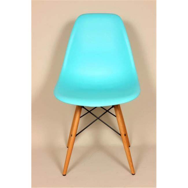 Kirch FD130WOBLUE Mid-Century Eiffel Dining Chair - Ocean Blue