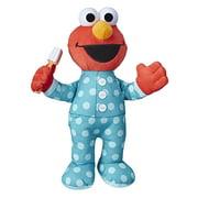 Sesame Street Brushy Brush Elmo 12-inch Plush Toy, Ages 18 Months+