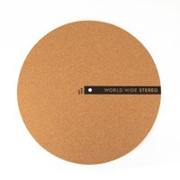 "World Wide Stereo 12"" Cork Turntable Slipmat - 2019 Edition"
