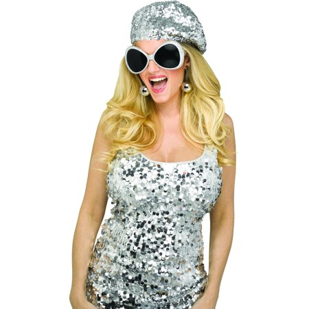 Women's 70s Disco Diva Instant Costume Accessory Kit - Plus Size 70s Costumes