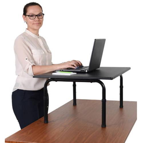Luxor STANDSD32 32 W Desktop Standing Desk Walmartcom