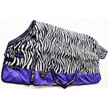1000D Turnout Waterproof Horse WINTER Coat BLANKET  107