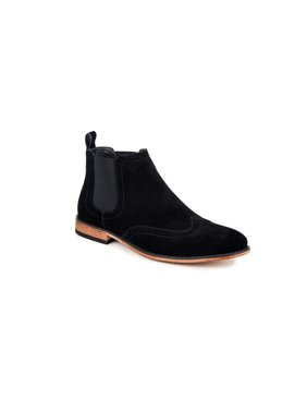 dd8d29f29e8 Product Image Gino Vitale Men's Wing Tip Chelsea Boots