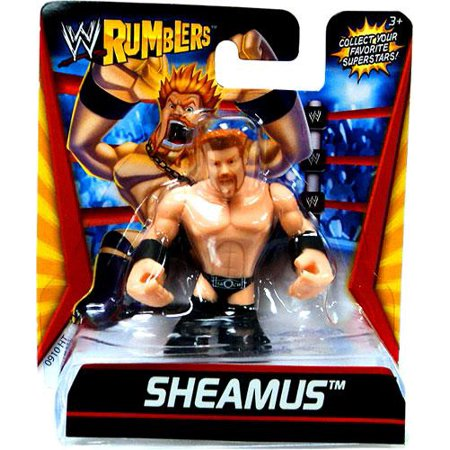 WWE Wrestling Rumblers Series 1 Sheamus Mini Figure [Black - Wwe Outfits