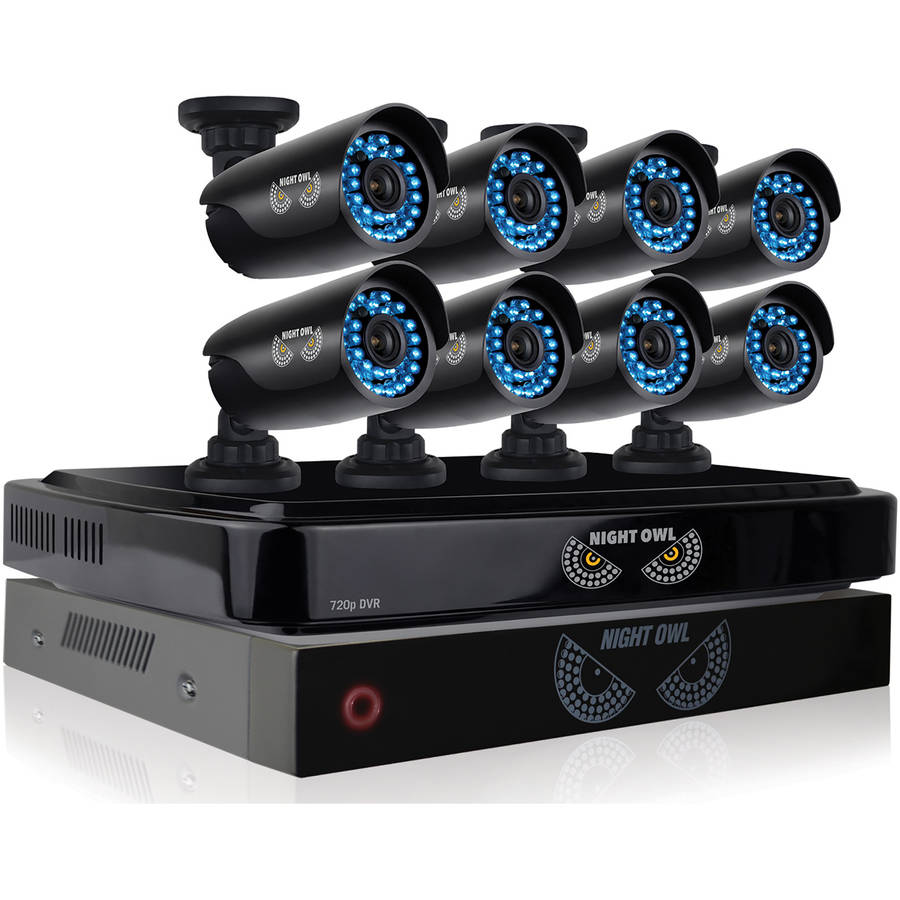 Night Owl B-BBA720-82-8 8-Channel Smart HD Video Security System with 2TB HDD and 8 Indoor/Outdoor 720p HD Cameras