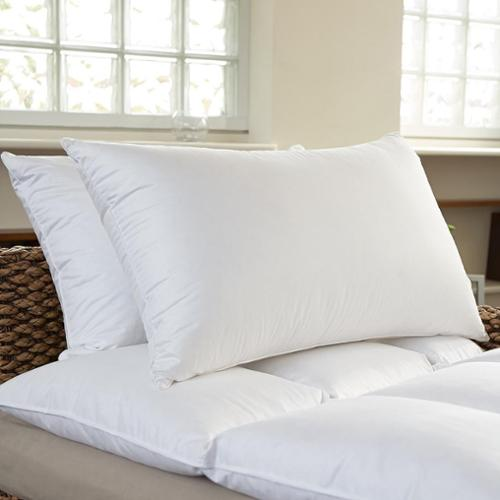 bed bath n more Luxury 400 Thread Count Feather and Down Pillows (Set of 2)