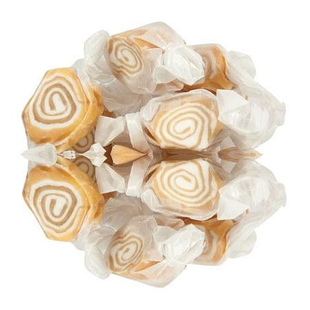 Sweets Candy Caramel Nougat Swirls Taffy, 3 Pounds