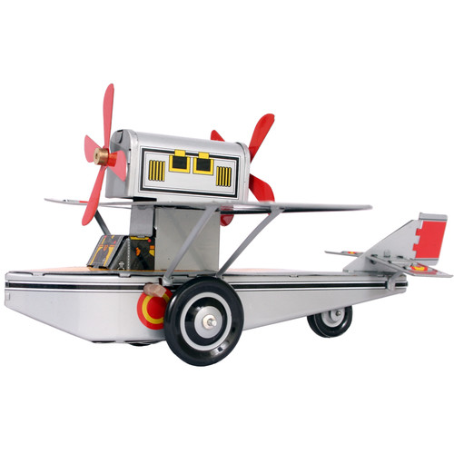 Alexander Taron Collectible Tin Toy Model Sea Plane