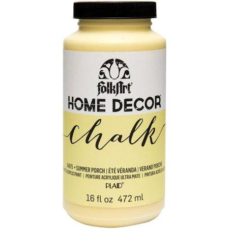 Plaid-Craft HDCHLK16-34875 16 oz Folkart Home Decor Chalk Paint - Summer