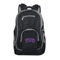 NCAA Texas Christian University Horned Frogs Premium Laptop Backpack with Colored Trim