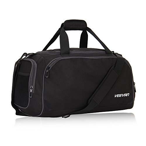 Veevanpro 18 inch Small Gym Bag Travel Sports Duffel Bag Carry on