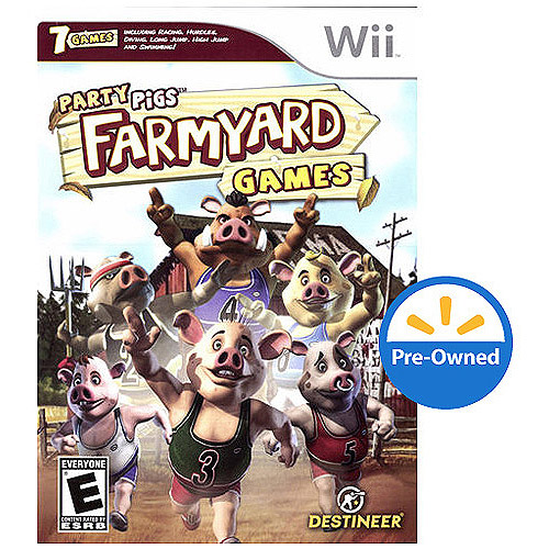 Farmyard Games-party Pigs (wii) - Pre-ow