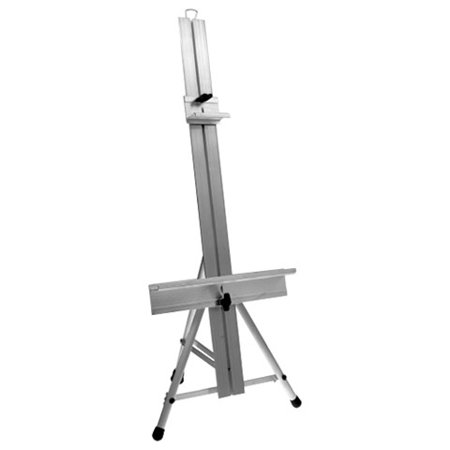 Testrite Aluminum Table Easel - Model 180 - Studio Style - Made in USA Metal Table Easel