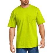 Men's Short Sleeve Enhanced Visibility T-Shirt, 2-Pack