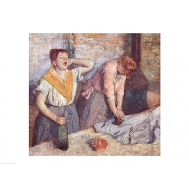 Posterazzi BALXIR33372LARGE The Laundresses C.1884 Poster Print by Edgar Degas - 36 x 24 in. - Large - image 1 of 1