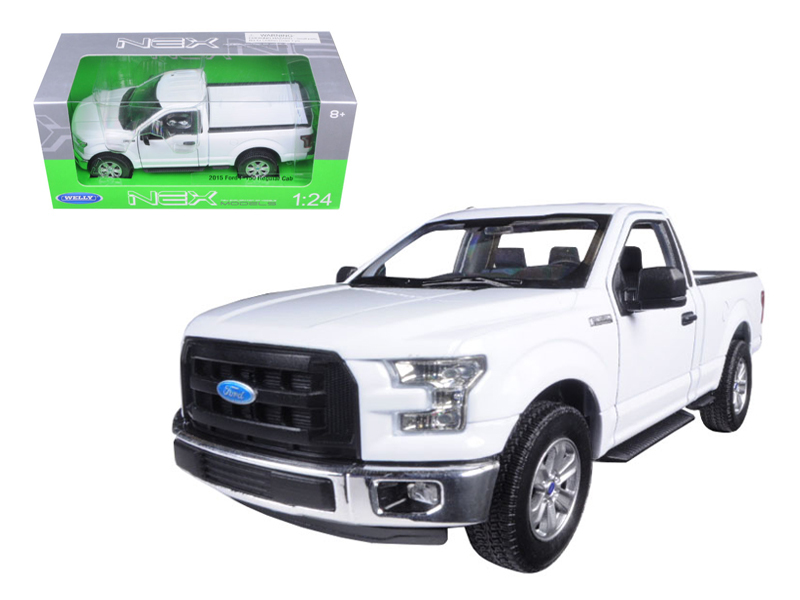 Ford F  Pickup Truck Regular Cab White  Cast Model By