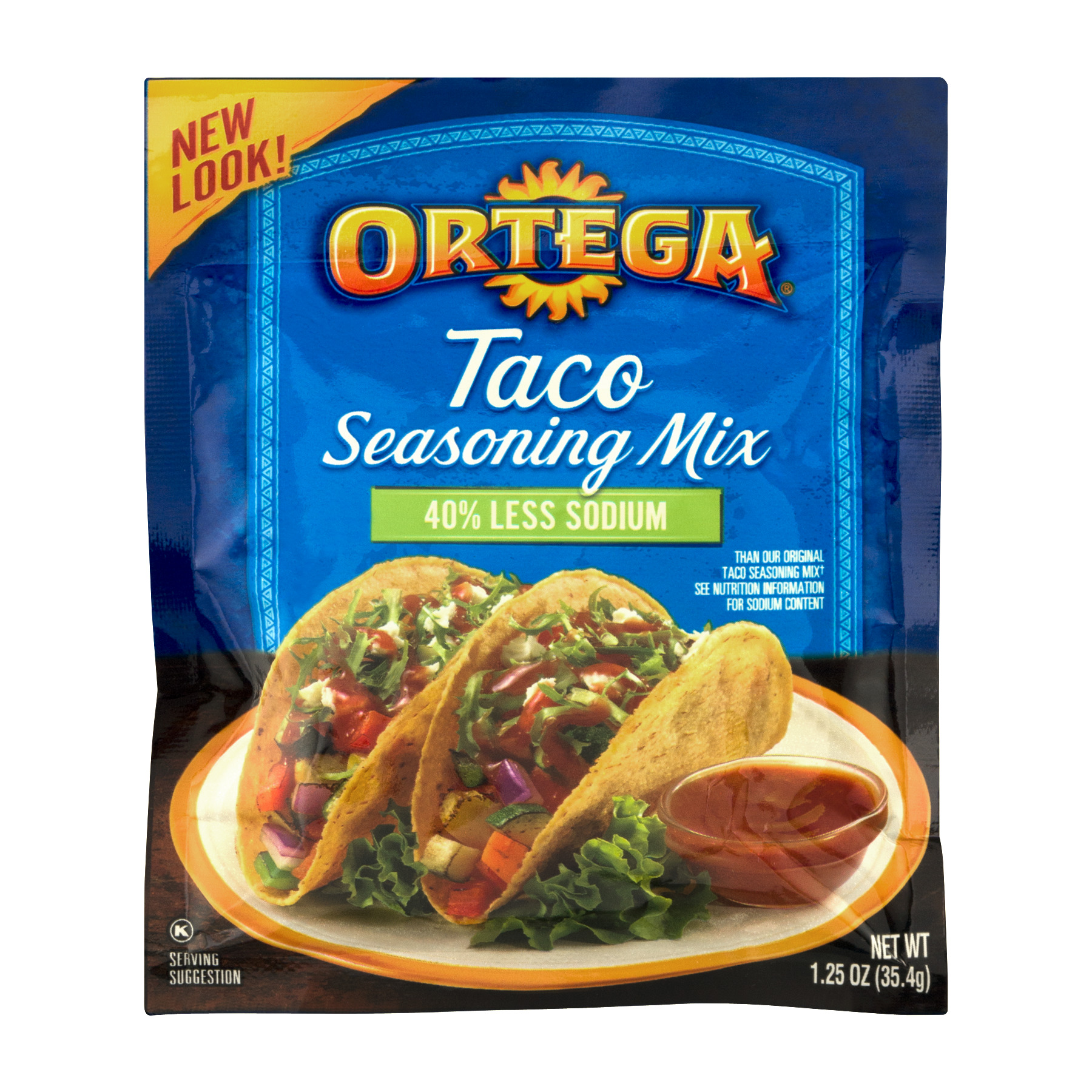 Ortega Low Sodium Taco Seasoning