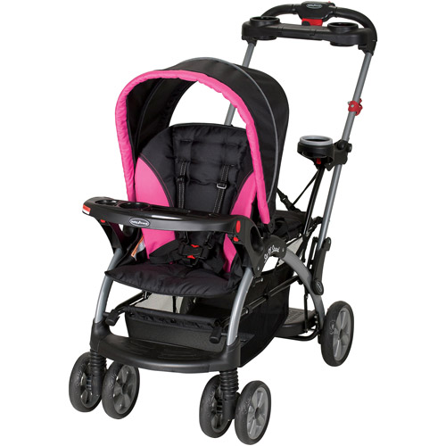 Baby Trend Sit 'N Stand Ultra Single Stroller, Bubble Gum