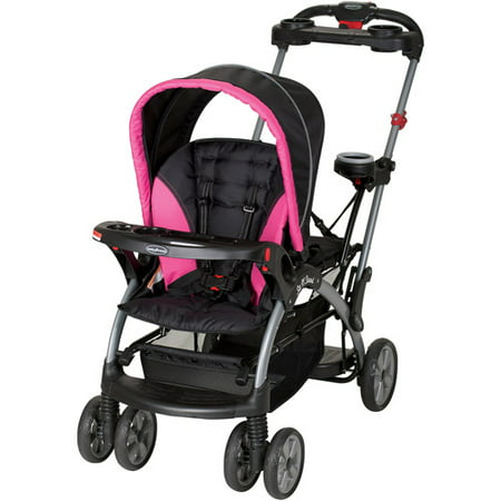 Baby Trend Sit 'N Stand Ultra Single Stroller, Bubble Gum ...