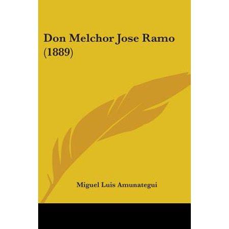 - Don Melchor Jose Ramo (1889)