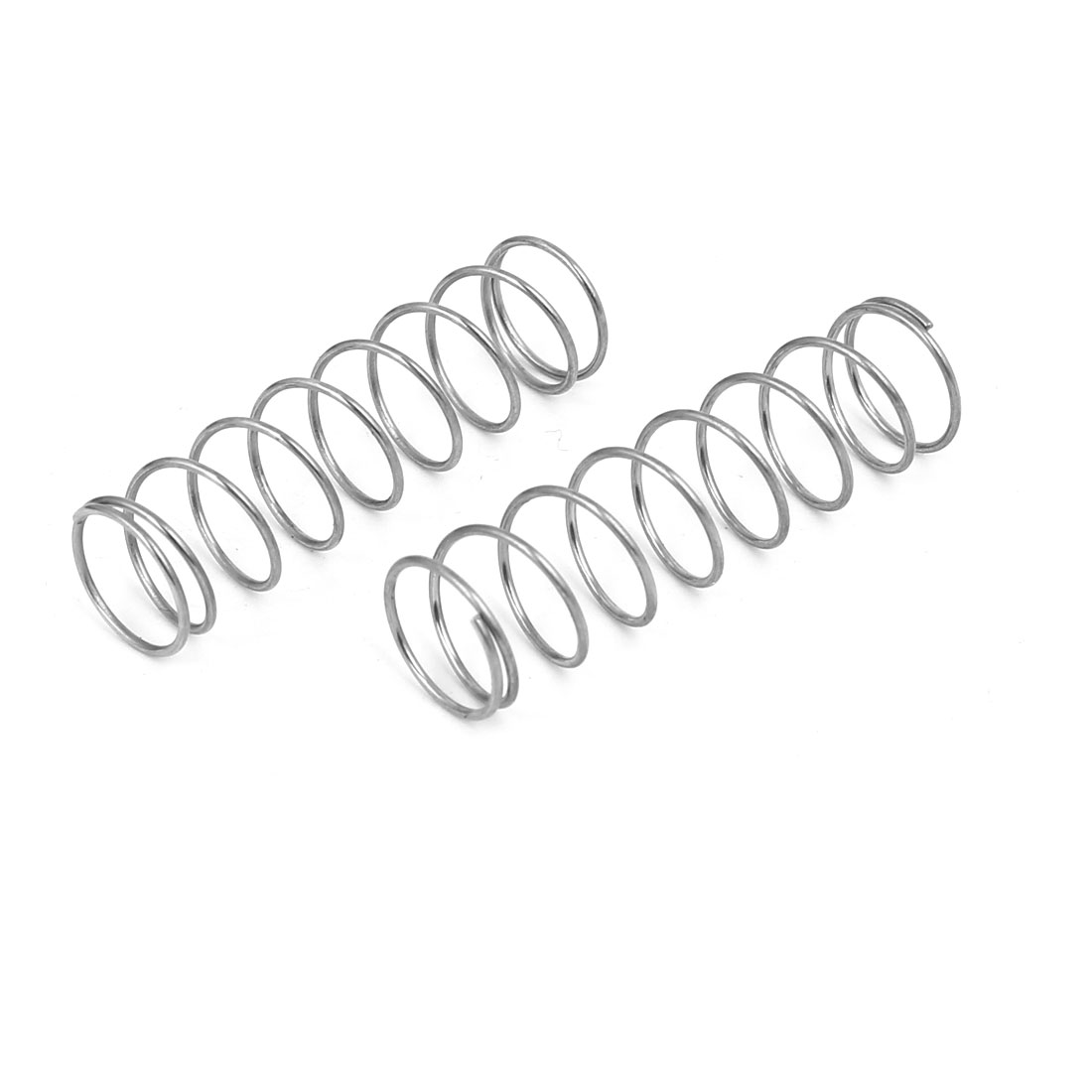 0.8mmx12mmx45mm 304 Stainless Steel Compression Springs 10pcs - image 2 of 3