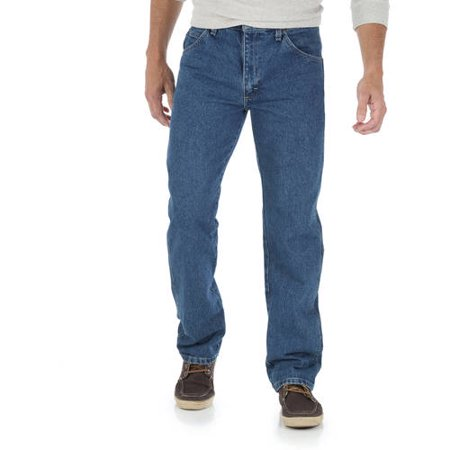 Wrangler Men's Regular Fit Jeans (37 Inseam Jeans)