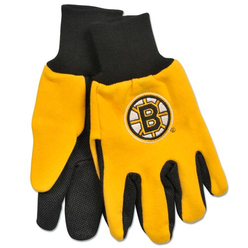 Boston Bruins Two Tone Gloves Adult by McArthur