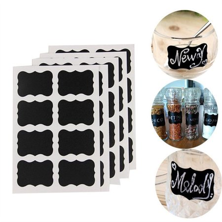 BEAD BEE Well Made Blackboard Sticker Craft Kitchen Candy Jar Organizer Labels 40Pcs/Set](Candy Craft Server)