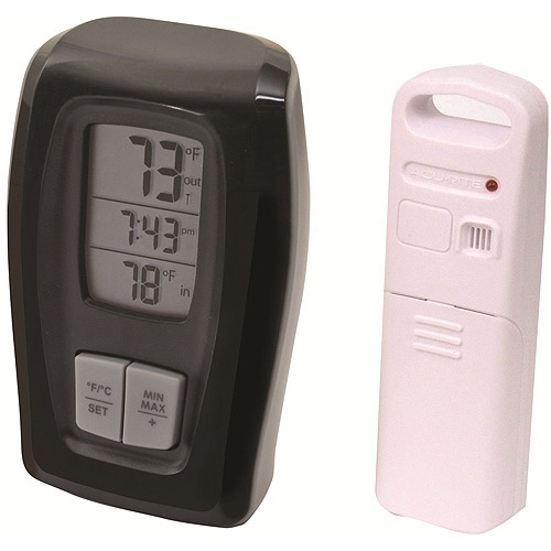AcuRite Digital Indoor/Outdoor Thermometer Clock