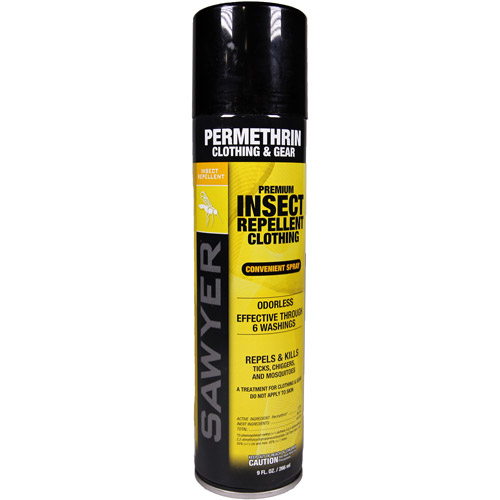 Sawyer Products Permethrin Premium Clothing Insect Repellent, 9-oz Aerosol