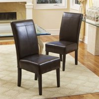 Trent Home Anthony Dining Chairs in Chocolate Brown (Set of 2)
