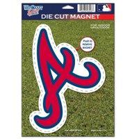 "Atlanta Braves WinCraft 6"" x 9"" Car Magnet"