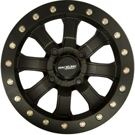 Raceline Mamba Beadlock Atv Wheel   Black  14X7  4 137    5 2  10Mm