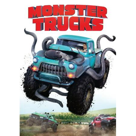 Monster Trucks (Walmart Exclusive) (DVD) - Monster High Halloween Full Movie English