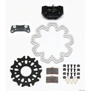 Wilwood GP320 Right Rear Kit SA Rotor 10.50in SuperAlloy Solid Rotor