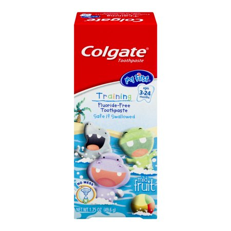 Colgate My First Baby And Toddler Toothpaste Fluoride