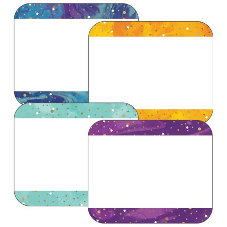 Galaxy Name Tags by Carson-Dellosa - Company Name Tags