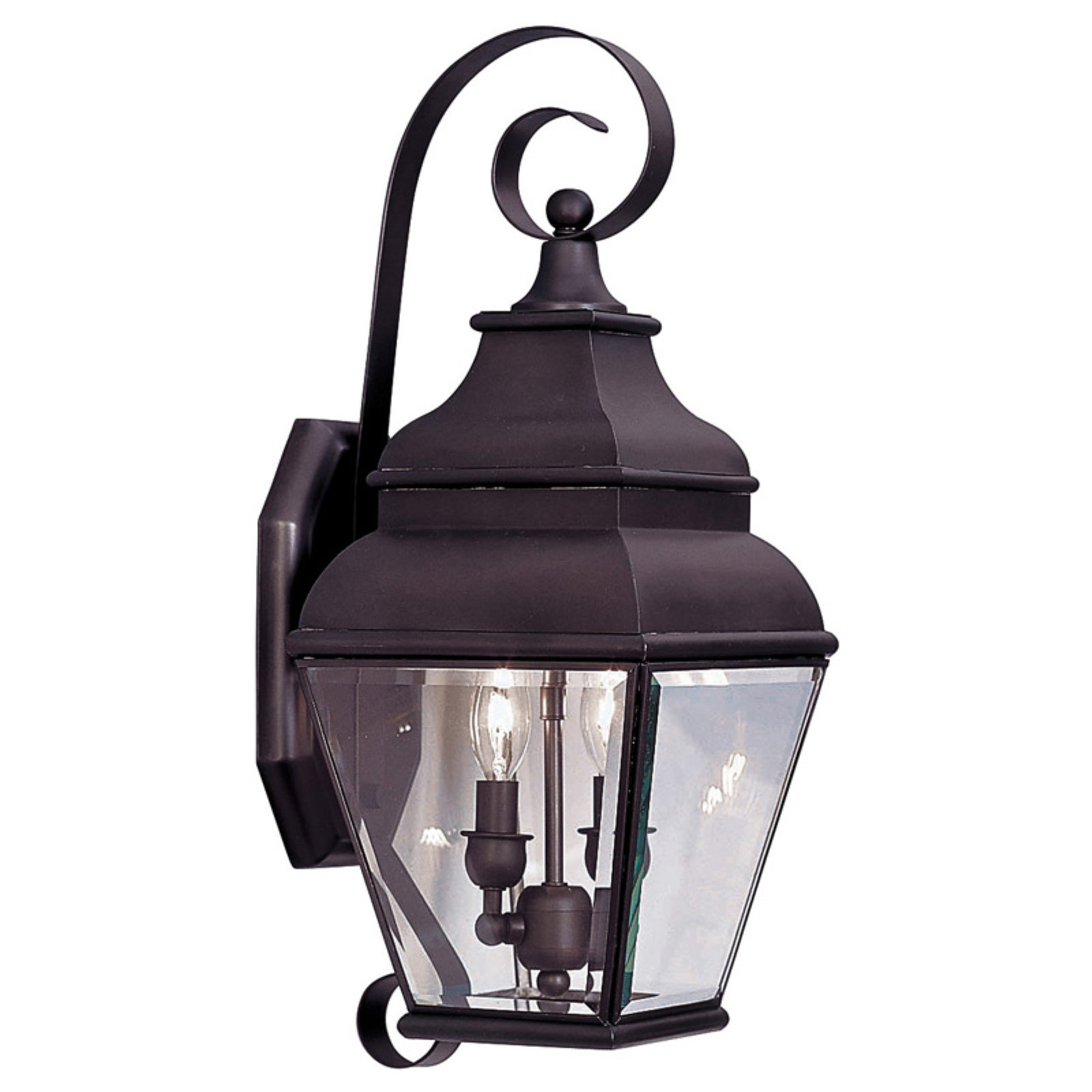 Livex Lighting Exeter 2 Light Outdoor Wall Lantern
