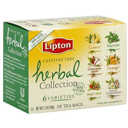 Tea bag caffeine content