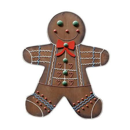 LAMINATED POSTER Crafts Wood Gingerbread Man Sign Decoration Poster Print 24 x 36](Gingerbread Man Craft)