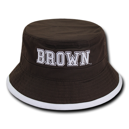 e51c1b375 NCAA Brown University College Freshmen Bucket Caps Hats,S/M