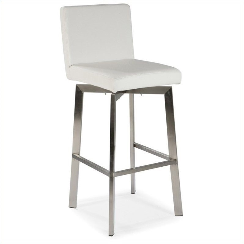 Moe S Home Collection Giro 26 Quot Counter Stool In White
