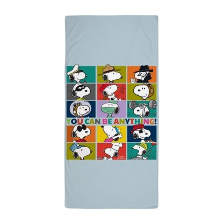 CafePress - Snoopy You Can Be Anything - Large Beach Towel, Soft 30